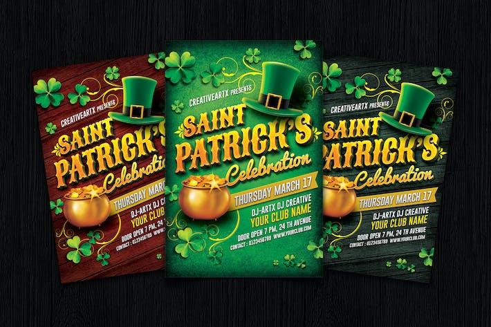 Thumbnail for St. Patrick's Day Celebration flyer