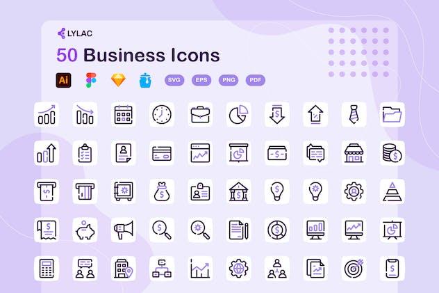 Lylac - Business Icons