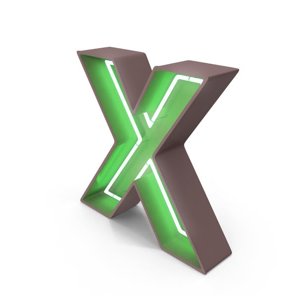 Thumbnail for Неоновая буква X