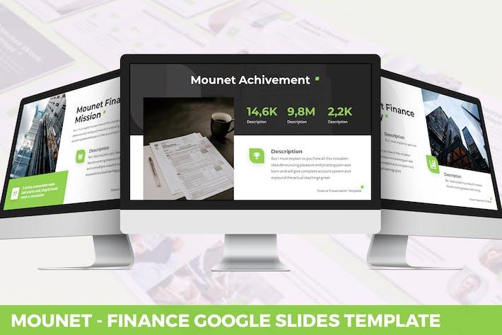 Thumbnail for Mounet - Finance Google Slides Template