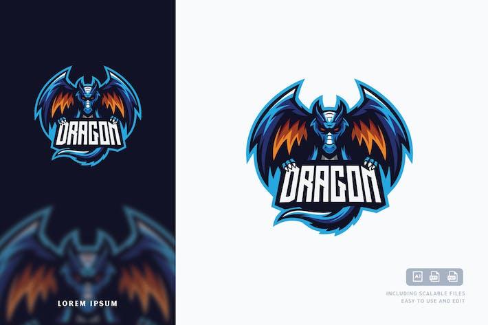 Thumbnail for Dragon Logo Template