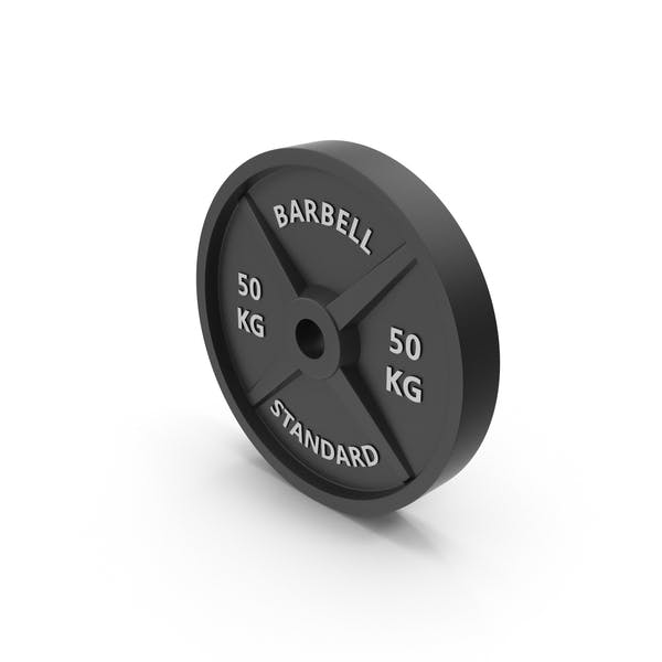 Thumbnail for Barbell weight standard 50 kg
