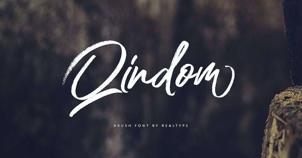 Download Qindom Brush Fonts by Siwox