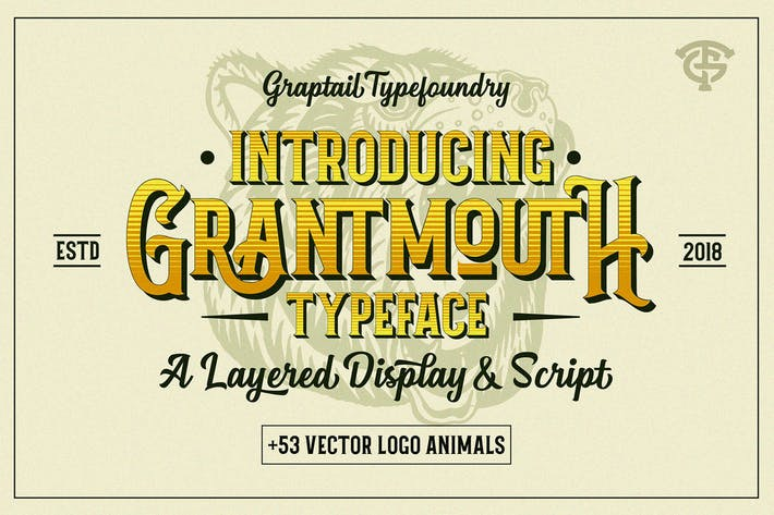 Thumbnail for Grantmouth Typeface