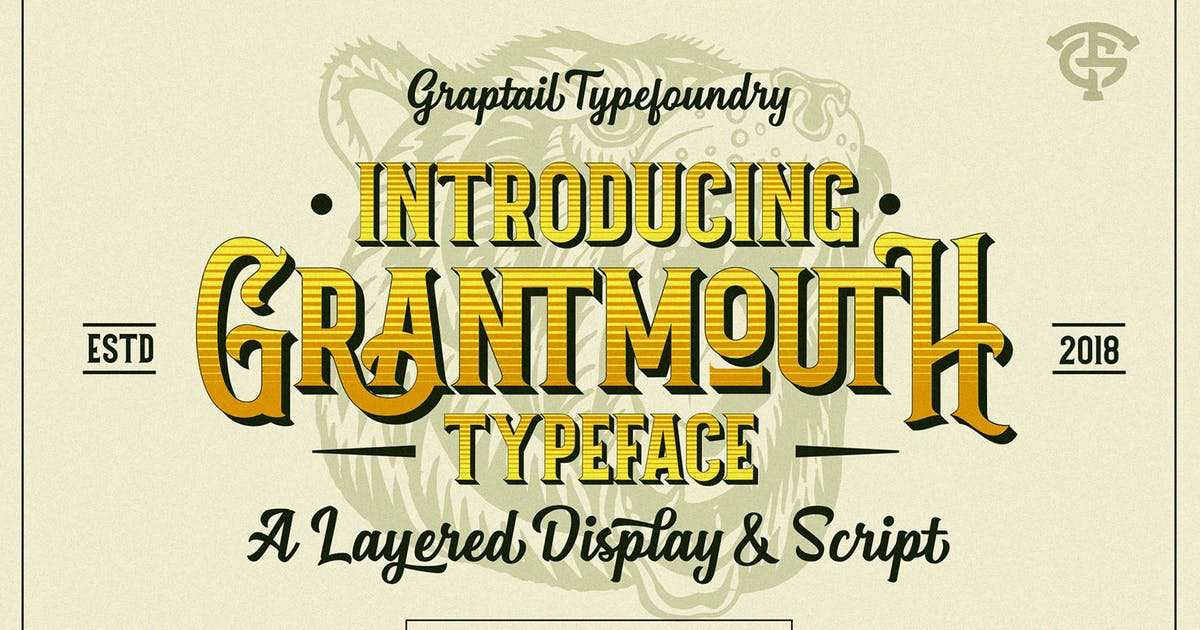 Download Grantmouth Typeface by graptailtype