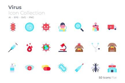 Virus Color Icon