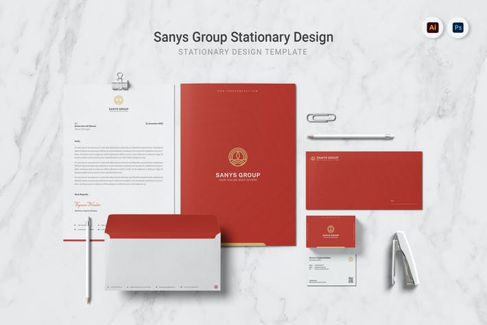 Thumbnail for Sanys Group Stationary