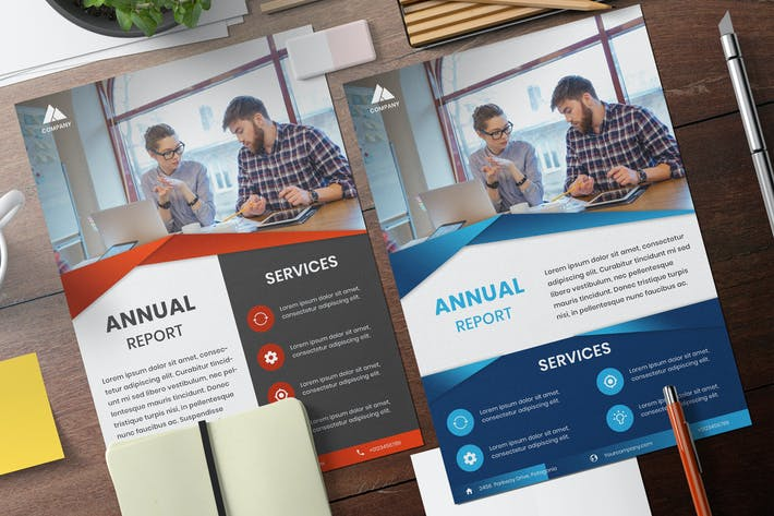 Thumbnail for Business template modern design