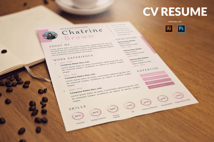 Thumbnail for CV Resume Creative And Innovative