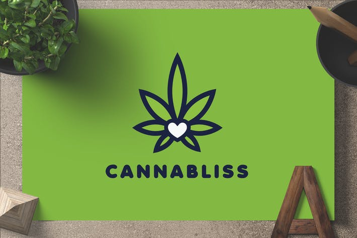 Thumbnail for Cannabliss — Logo Template