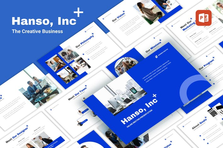 Thumbnail for Hanso - Business PowerPoint Template