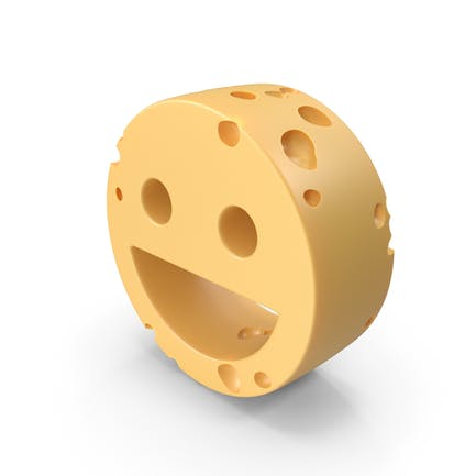 Smiley Face Symbol Cheese