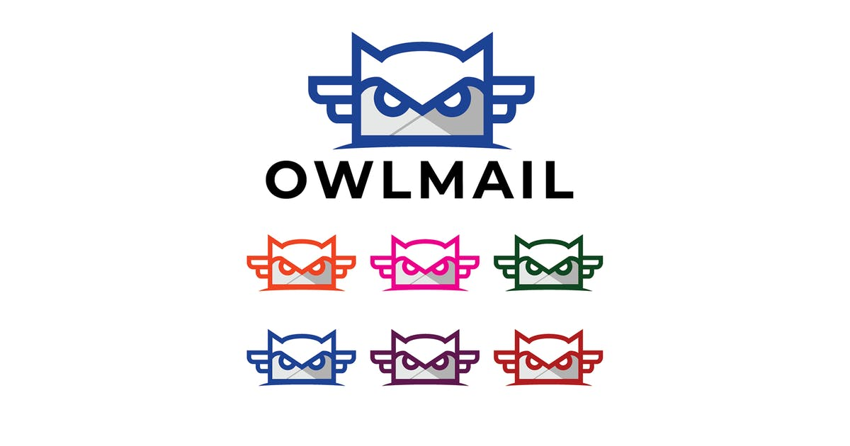 Download AMR Owl Mail Logo by subqistd