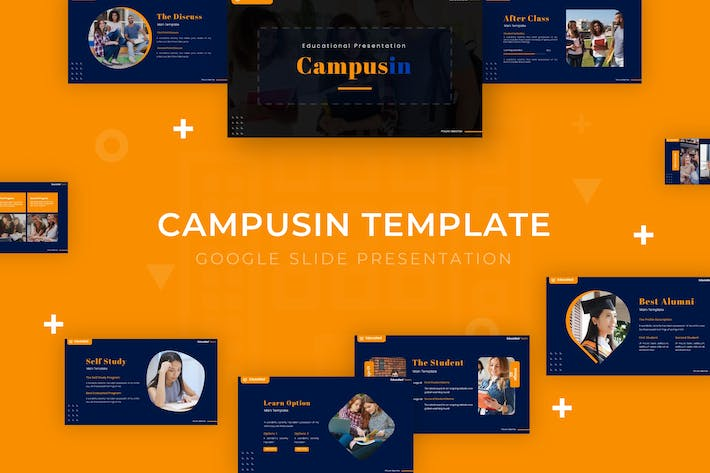 Thumbnail for Campusin - Google Slide Template