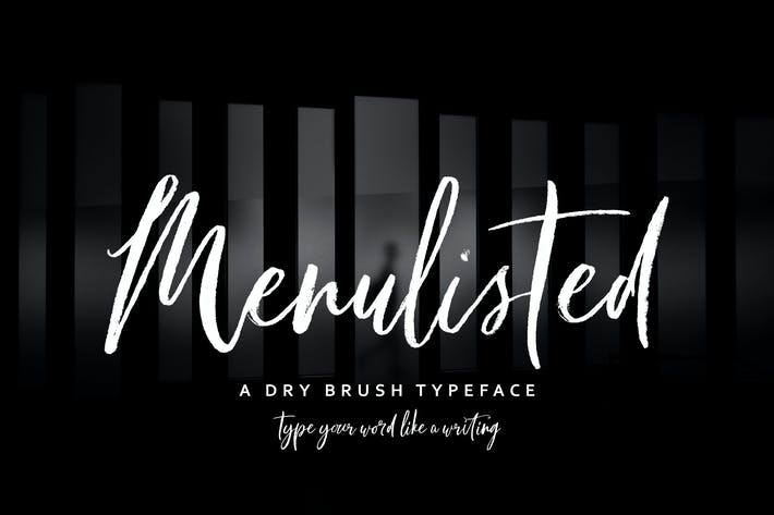 Thumbnail for Menulisted Brush Script