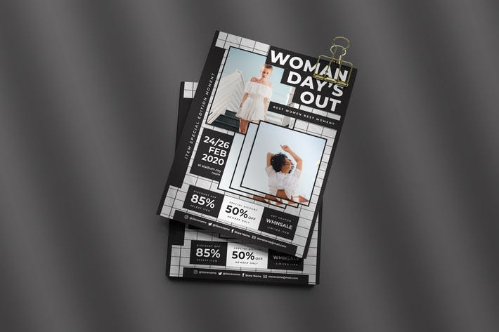 Thumbnail for Women Days Out Flyer