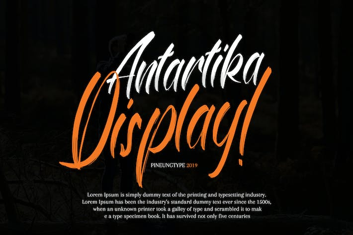 Cover Image For Antartika Display