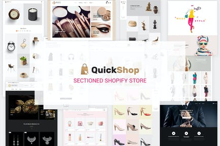Quick Shop | Sectioned Multipurpose Shopify Store
