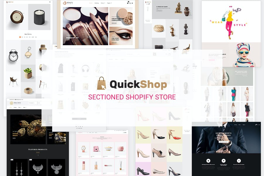 Quick Shop   Sectioned Multipurpose Shopify Store
