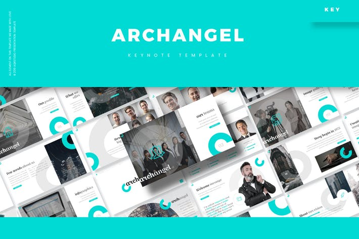 Cover Image For Archangel - Keynote Template