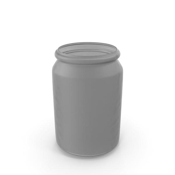Thumbnail for Kunststoff-Rundglas