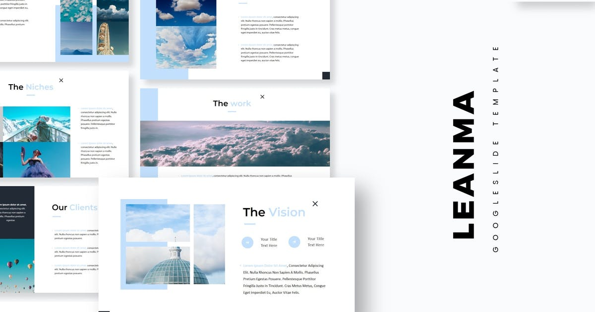 Download Leanma - Google Slides Template by aqrstudio
