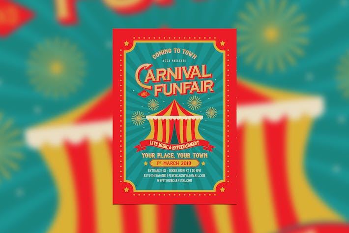 Thumbnail for Vintage Carnival and Funfair