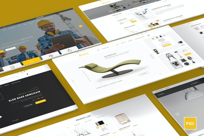 Thumbnail for BeStruct - Multiconcept Construction PSD Template