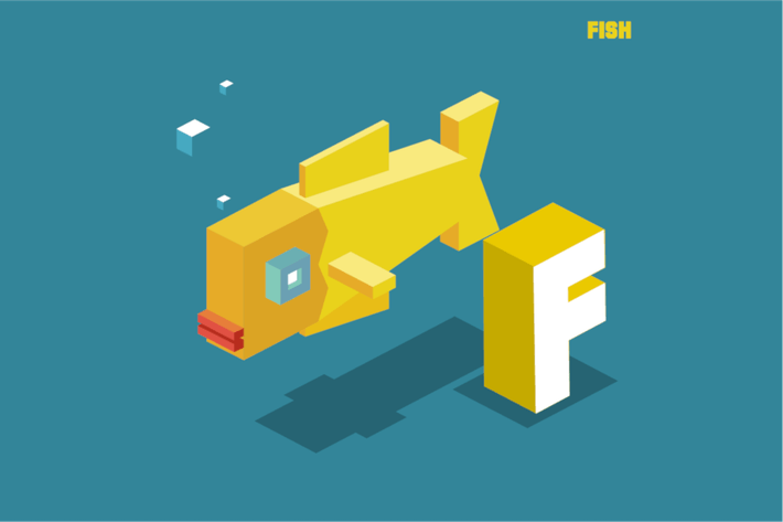 Thumbnail for F for fish, Animal Alphabet