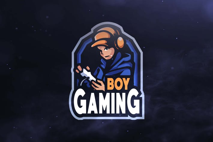Thumbnail for Boy Gaming Sport and Esports Logos