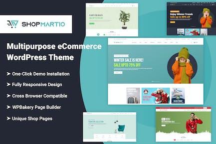 Shopmartio – Multipurpose eCommerce WordPress Them