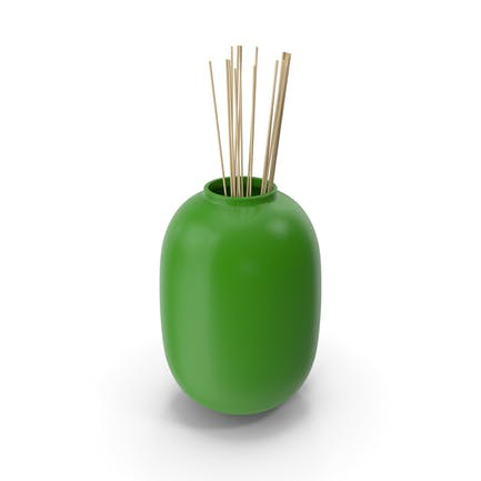 Deko-Vase grün