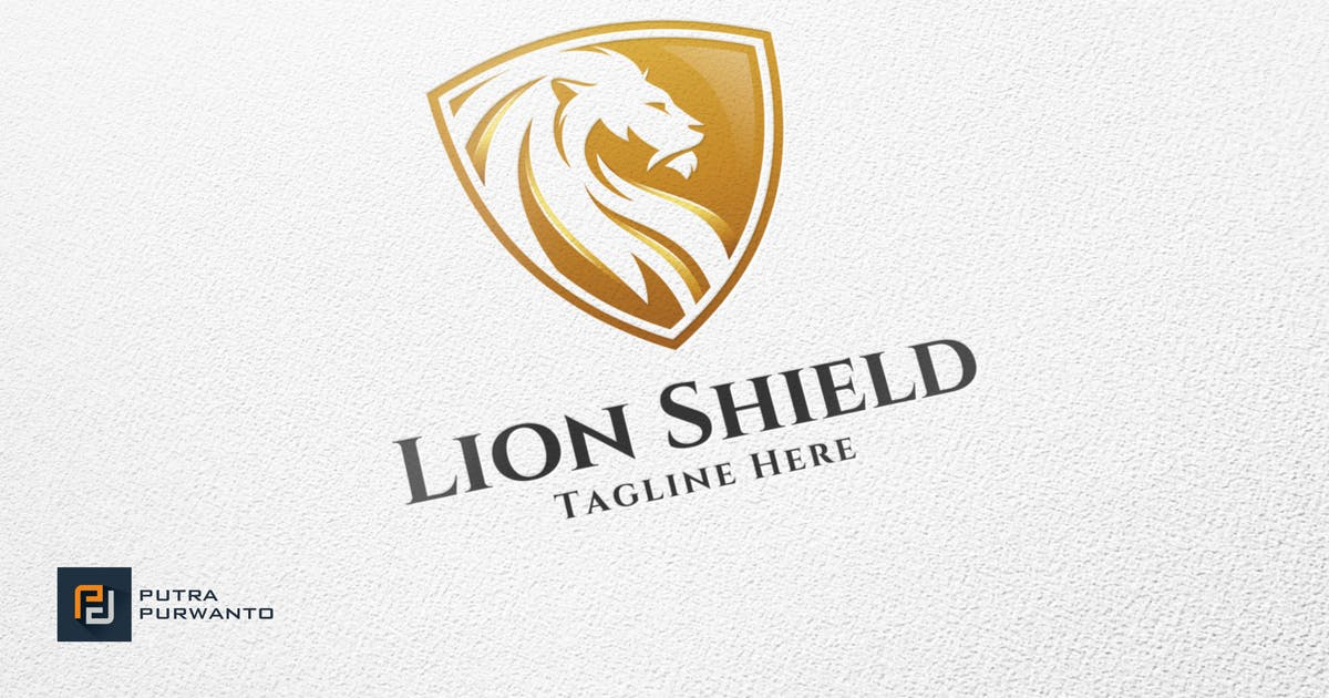 Download Lion Shield - Logo Template by putra_purwanto