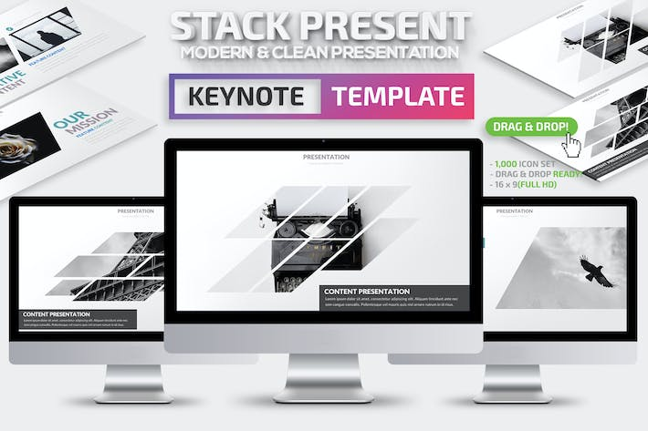 Stack Keynote Presentation Template