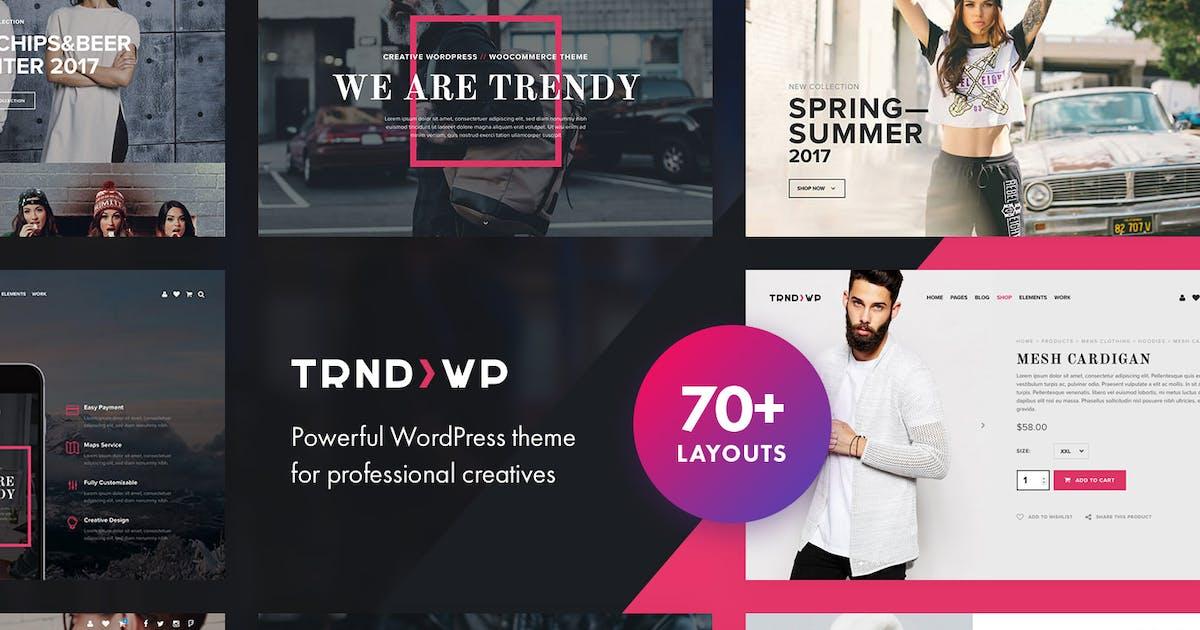 Download Trendy - Creative Multi-Purpose WordPress Theme by tvdathemes
