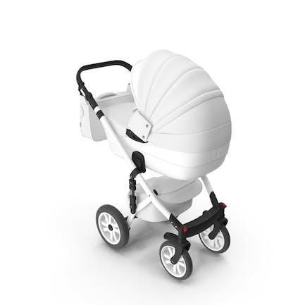 Kinderwagen Weiß