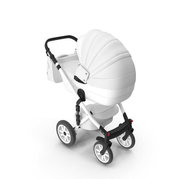 Thumbnail for Baby Stroller White