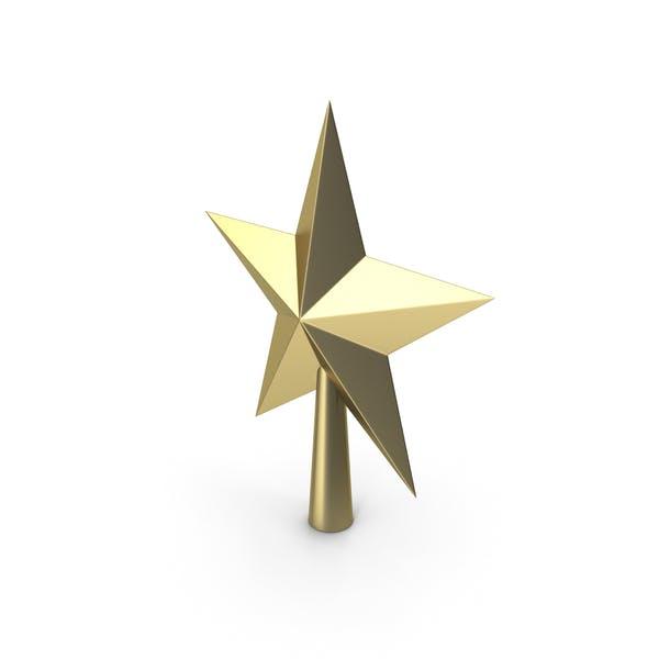 Christmas Star Golden