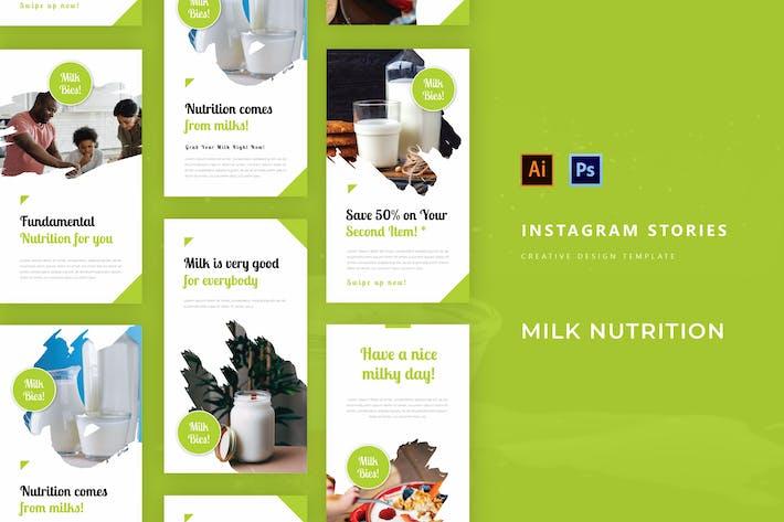 Молочное питание Instagram История