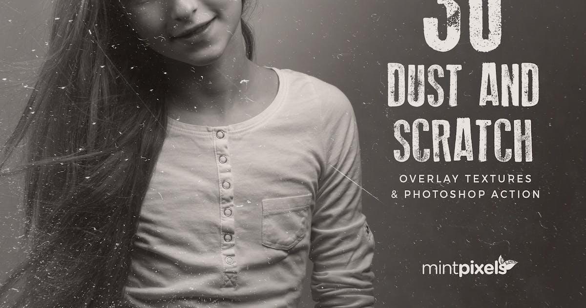 Download 30 Dust & Scratch Overlay Textures by vasaki