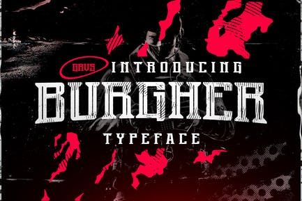 Burgher Esport Font
