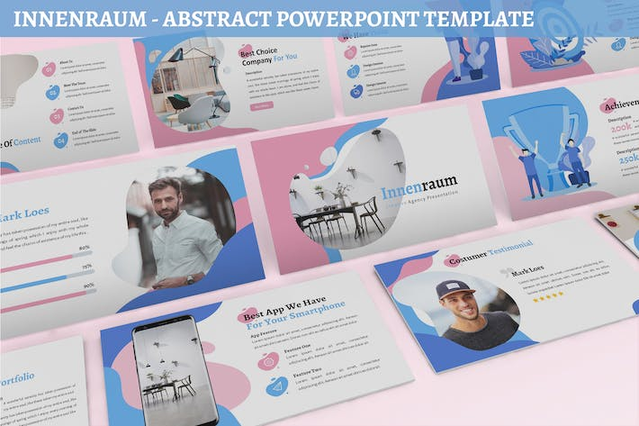 Thumbnail for Innenraum - Abstract Powerpoint Template