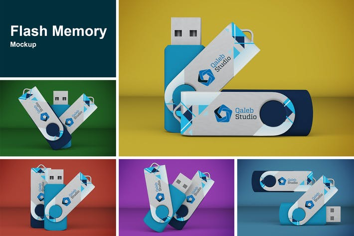 Thumbnail for Flash Memory Mockup