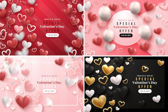 Thumbnail for Valentine's Day Backgrounds