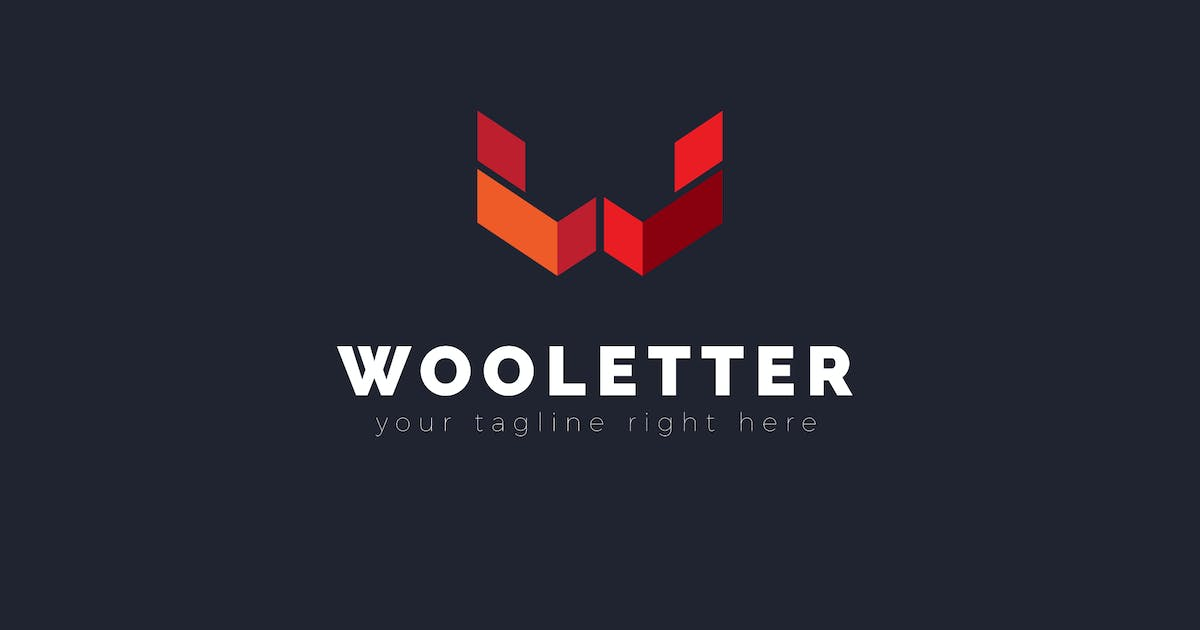 Download Wooletter - W Letter Logo Template by ThemeWisdom