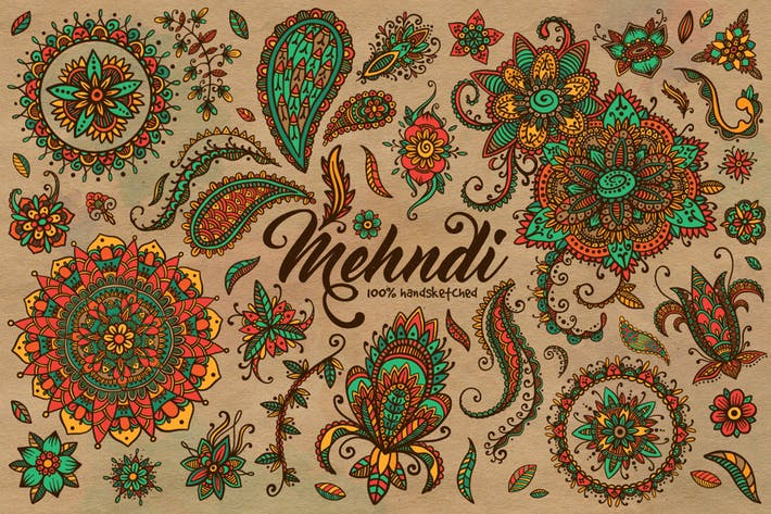 Thumbnail for Mehndi Summer Collection