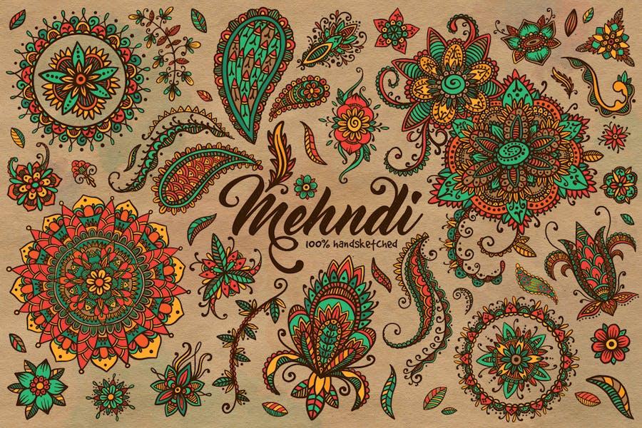 Mehndi Summer Collection
