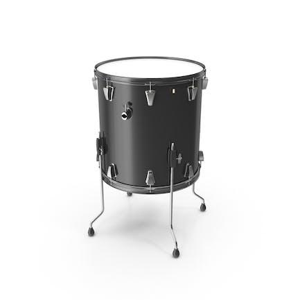 Black Floor Tom Drum
