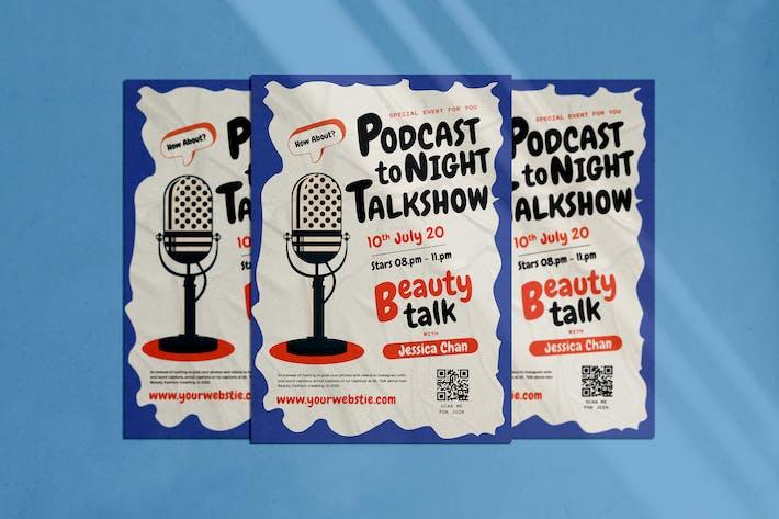 Thumbnail for Podcast Flyer