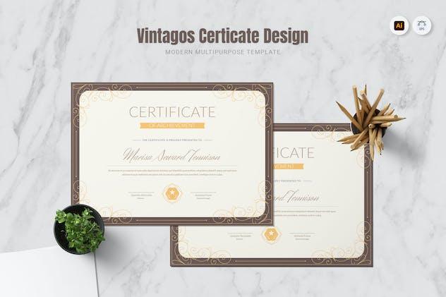 Vintagos Certificate